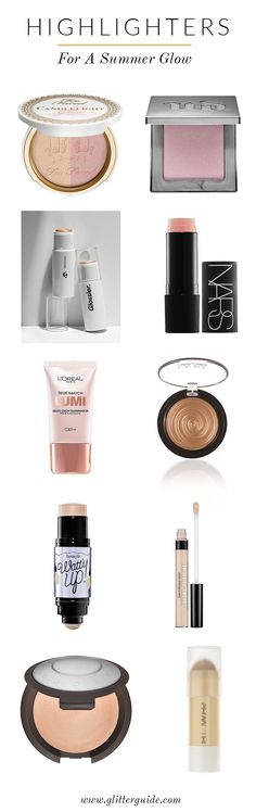 We've rounded up the 10 highlighters you need for a gorgeous summer glow.