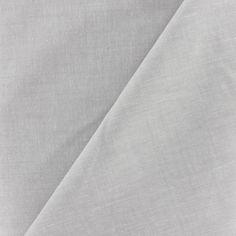 Tissu Chambray gris