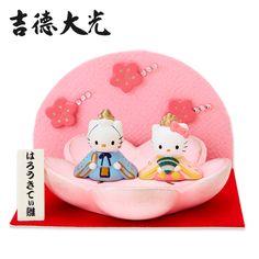 Yoshinori Hello Kitty & Dear Daniel crepe folding screen chick Sanrio online shop - official mail order site