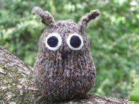 Knitted Owl Pattern | AllFreeKnitting.com