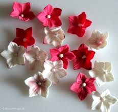 Image result for how to make fondant flowers step by step