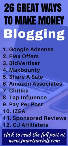 How to make money blogging for beginners  26 great sites that can help you make money from your blog