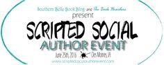 Scripted Social Author Event | 06/25/2016 1:00 - 4:00 pm Des Moines Marriott Downtown 700 Grand Ave Des Moines, IA 50309