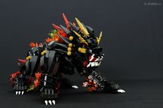 MOC - Chinese Lion | dennis qiu | Flickr