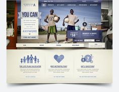 Redesign of Metropolitan.co.za by Nelleke van der Maas, via #Behance #Webdesign #Branding