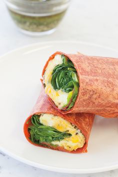 Omelet Wrap #goodfoodrealfast Other Recipes, Real Food Recipes, Cooking Recipes, Healthy Cooking, Healthy Eating, Clean Eating, Eat Lunch, Yummy Lunch, Epicure Recipes
