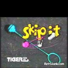 80's toy Skip It! I shouldve been way thinnner as many times as I skipped it! lol