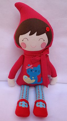 Hey, I found this really awesome Etsy listing at https://www.etsy.com/listing/236477397/little-red-riding-hood-little-red-riding