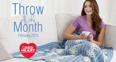 Welcome to the second in our Throw of the Month series! February.....
