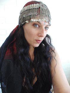 H01083   Gorgeous Vintage Kuchi Headdress  by 7SISTERStradingco