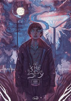 Will byers fan artwork will stranger things, stranger things 2 poster, stranger things netflix Illustrations, Illustration Art, Plakat Design, Will Byers, Stranger Things Netflix, Stranger Things 2 Poster, Will Stranger Things, Art Reference, Cool Art