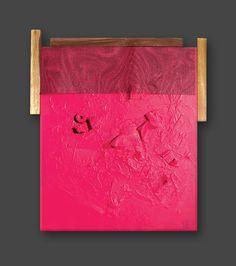 Álszentek1.  2010.  50x40 cm  akril, vászon, vakrámára feszített, vegyes  jelezve jobbra lent