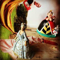 Ensaio para quatro rainhas loucas. Marie Antoinette, Rainha de Copas e David LaChapelle.