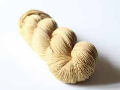 Renaissance ~ Hand Dyed Merino Light Fingering Yarn ~ Mustard