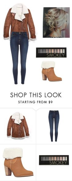 """Untitled #19"" by khay17 ❤ liked on Polyvore featuring River Island, UGG Australia and Forever 21"