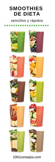 Si quieres adelgazar prepara estos deliciosos smoothies para el desayuno | smoothies recetas desayuno | smoothies para bajar de peso |  #recetasfaciles #adelgazarrápido