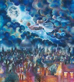 Kerry Darlington - peter pan www.theroyalgallery.co.uk