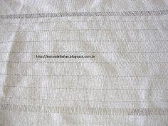 Trocas de Linhas: BORDADO DESFIADO- Com passo a passo. Geronimo, Needlepoint, Embroidered Towels, White Embroidery, Loom Crochet, Embroidery For Beginners, Linen Tablecloth, Silk Ribbon Embroidery, Hardanger