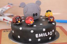 AngryBirds StarWars Cake