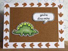 """There's a Card for That: Dino-mite Party 