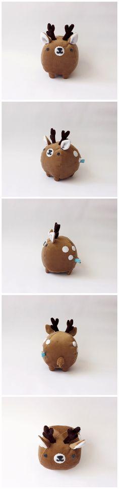 Mini ciervo. piqueniquetoys.com #deer #ciervo #cute #kawaii #handmade #toy #plush #stuffed