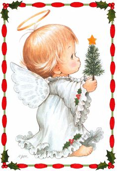 Ruth Morehead Designs Related to Warm amp Whimsical Art of . Christmas Angels, Christmas Art, Vintage Christmas, Christmas Drawing, Christmas Paintings, Ariana Grande Drawings, Angel Images, Xmax, Baby Clip Art