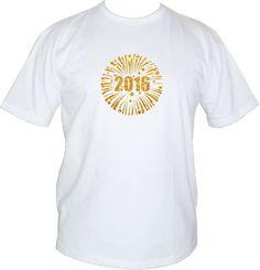 Camiseta Feliz Ano Novo 2016