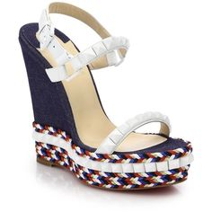 louboutin trainers - Wedges on Pinterest | Wedges, Shoes Sandals and Wedge Sandals