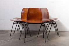 Industrial Dining Chair with Single Shell Seat: Amsterdam Modern ($195.00) - Svpply