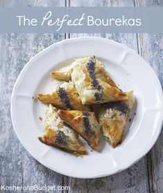 The Perfect Bourekas - Cheese, Spinach & Potato