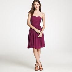 This is my favorite bridesmaid dress so far, but it is expensive and doesn't come in the right color. Sad!