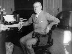 October 2, 1919, President Woodrow Wilson, who had just cut short a tour of the country to promote the formation of the League of Nations, suffers a stroke.  The tour's intense schedule--8,000 miles in 22 days--cost Wilson his health. He suffered constant headaches during the tour, finally collapsing from exhaustion in Pueblo, Colorado, in late September. He managed to return to Washington, only to suffer a near-fatal stroke on October 2.