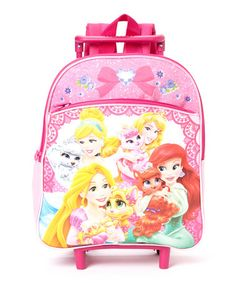 Look what I found on #zulily! Disney Palace Pets Rolling Backpack #zulilyfinds