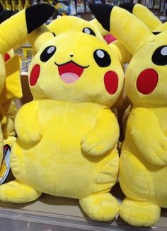 Pokemon Photos from Tokyo - Life Size Pikachu plush doll omg I want it