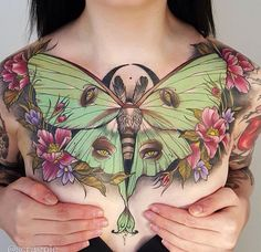 more moth chest piece luna moth tattoo moth tattoo top tattoos tattoos . Trendy Tattoos, Sexy Tattoos, Body Art Tattoos, Sleeve Tattoos, Arabic Tattoos, Tattoos Skull, Top Tattoos, Dragon Tattoos, Tattoo Ink