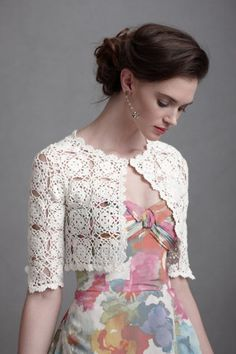 Interlocked Medallions Bolero in at BHLDN