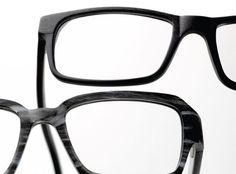 dd88705892e Black as the New Black - From top  ARROW 129 from Nouveau Eyewear  JEAN  RENO BY CENDRINE O. 1346 from Zig Eyewear