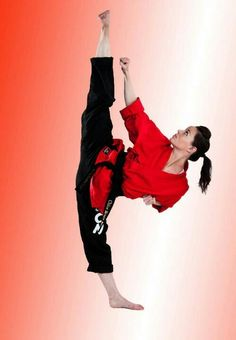 TKD - PERFECTION! She's awesome!!