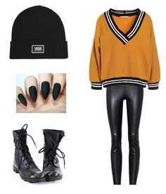 I Cássia by larissa-teles on Polyvore featuring polyvore STOULS Vans fashion style clothing