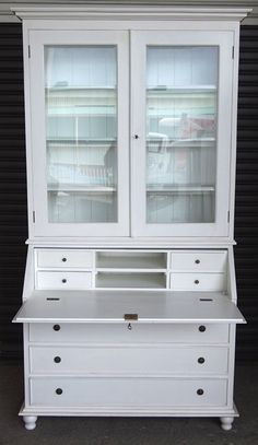 Antique Frenchstyle Furniture for Sale Light Oak Furniture, Writing Bureau, French Furniture, China Cabinet, Business Ideas, Cabinets, Fill, Bohemian, Bar