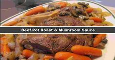 Tasty Slow Cooker Beef Pot Roast with delicious mushroom sauce. Pretty simple... but so tasty. What's better than a... READ MORE...
