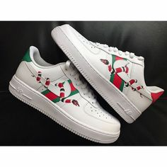 Essential Fashion Shoes for Women Gucci Custom Nike Air Force 1 Sneakers Fashion Outfits, Gucci Sneakers, Gucci Shoes, Shoes Sneakers, Fashion Shoes, Sneakers Women, Fashion Outlet, Cheap Fashion, Shoes Women