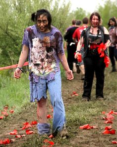 Running with zombies? Cool races with a twist - http://www.amazingfitnesstips.com/running-with-zombies-cool-races-with-a-twist