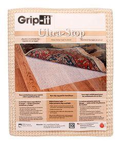 $26.49 Grip-It Ultra Stop Non-Slip Rug Pad for Rugs on Hard Surface Floors, 8 by 10-Feet Grip-it http://www.amazon.com/dp/B003TDQQIA/ref=cm_sw_r_pi_dp_9MBkvb04JRAVK