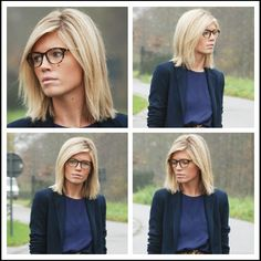 Shoulder length haircut with long layers - Mirror of Fashion Blog