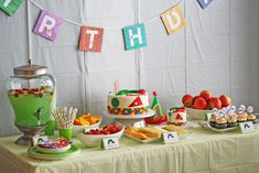Very Hungry Caterpillar {1st Birthday Party} | Sweet Little Peanut