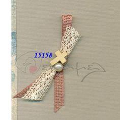 Μαρτυρικά βάπτισης σταυρουλάκι ξύλινο - πέρλα λευκή.  Η τιμή αφορά τεμάχιο. Ελάχιστη ποσότητα 50 τεμάχια.