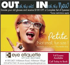 c156b7fee05 Sale on until February 16th 2013! Eye Etiquette Optical Boutique