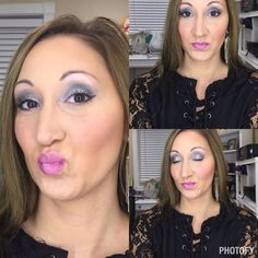 glorious primer satin liquid foundation velour liquid concealer for highlight velour pressed powder over highlighted areas chiffon pressed powder over contour areas Malibu bronzer  seductive blush prim liner on brows feisty, corrupted, sexy pigments  liquid liner pompous lip liner Loveable lipgloss   Younique Perfection www.beautybysj.com