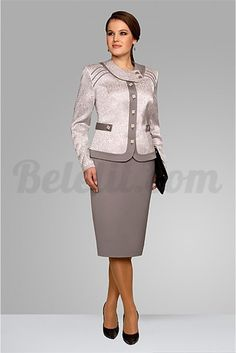 Sweet silver top and skirt Womens Dress Suits, Suits For Women, Clothes For Women, African American Fashion, African Fashion Dresses, Lawyer Fashion, Classy Suits, Scuba Dress, Professional Outfits